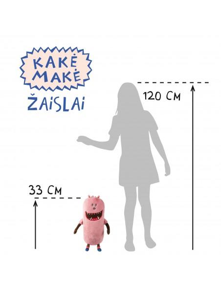 Pliušinis žaislas MAMAISA (rožinis)